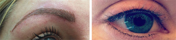 Bespoke Semi Permanent Make Up for Eyes, Lips & Brows