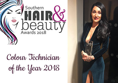 Colour Technician of the Year 2018 - Jenna