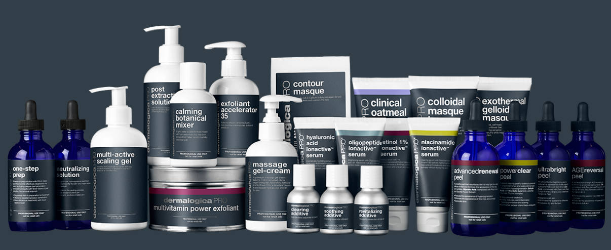 Dermalogica's professional-use products