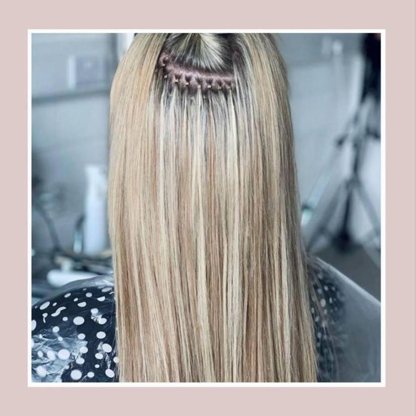 Nano hair extensions Gosport